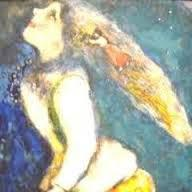 Chagall, Marc. Girl in Pursuit. 1927-28. Santa Barbara Museum of Art, Santa Barbara, CA.